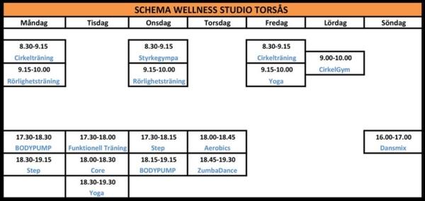 Wellness studio Torsås